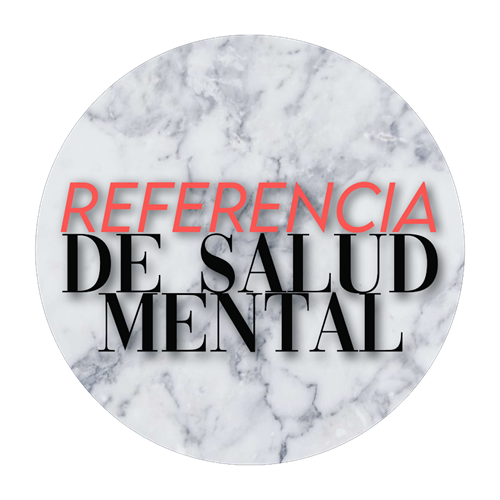 Mental Health Referral Spanish Button